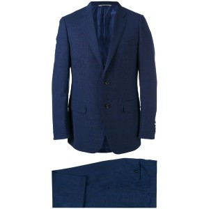 Canali - two piece suit - men - ウール/キュプロ - 56