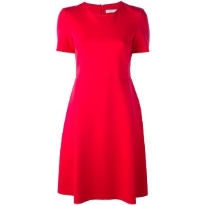 Harris Wharf London - shortsleeved flared dress - women - ポリアミド/スパンデックス - 40