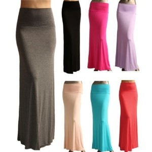6 colors!!! 2015 summer hot sale fashion womens fishtails long skirts sexy high waist maxi skirts ju