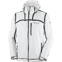 コロンビア Columbia メンズ アウター ジャケット【Outdry Ex Stretch Hooded Shell Jacket】White