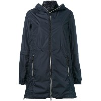 Duvetica - layered hooded jacket - women - ダウンフェザー/ポリアミド - 42