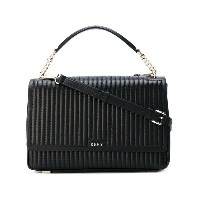 Donna Karan - quilted tote - women - ナッパレザー - ワンサイズ