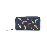 Tory Burch - fish ziparound wallet - women - レザー - ワンサイズ