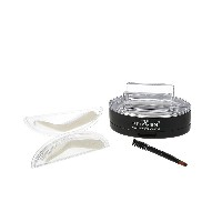 PNF Brow Stamp Powder Eye Brow Enhancer Delicate Natural Brow With Brush Mirror 2 Pairs Stamps 1# Br