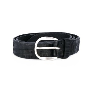 Orciani - textured belt - men - レザー - 100