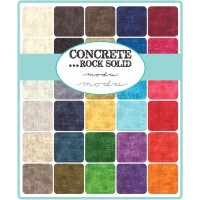 Concrete Rock Solid Charm Pack; 42 - 5 Precut Fabric Quilt Squares by MoDA [並行輸入品]