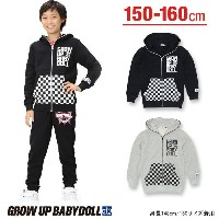 50%OFF アウトレットSALE GROW UP BABYDOLL_マスクギミックジャケットパーカー-子供服 キッズ ジュニア ベビードール BABYDOLL starvations-6081K...