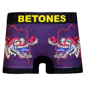 BETONES SKA DRAGON BOXER PANTS Purple