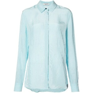 Altuzarra - check shirt - women - シルク/ビスコース - 36