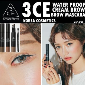 [韓国コスメ/韓国化粧品/韓国ファッション/3CE/3CONCEPTEYES/STYLENANDA]3CE WATER PROOF CREAM BROW BROW MASCARA