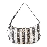 Nina Ricci - striped shoulder bag - women - レザー - ワンサイズ