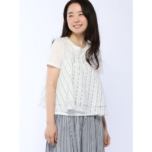 【SALE/69%OFF】AS KNOW AS ◇フリキャミセットT アズノゥアズ カットソー【RBA_S】【RBA_E】