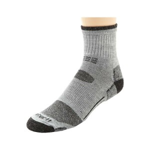 カーハート Carhartt メンズ インナー ソックス【Merino Wool All Terrain Quarter Sock】Heather Gray