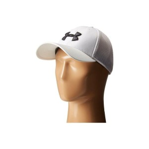 アンダーアーマー Under Armour メンズ 帽子 キャップ【UA Golf Mesh Stretch 2.0 Cap】White/Black/Black