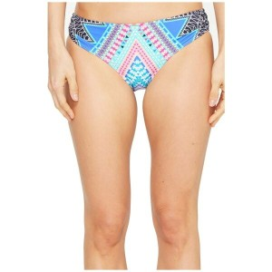 ロキシー Roxy レディース 水着 ボトムのみ【Sweet Memories 70's Bikini Bottom】Marshmallow Geometric Sunset