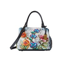 アヌシュカ Anuschka Handbags レディース バッグ ビジネスバッグ【528 Triple Compartment Large Satchel】Floral Fantasy