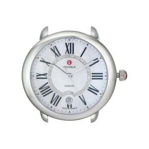 ミッシェル Michele レディース アクセサリー 腕時計【Serein 16, Diamond Dial Silver/Steel Watch Head】Silver/Steel