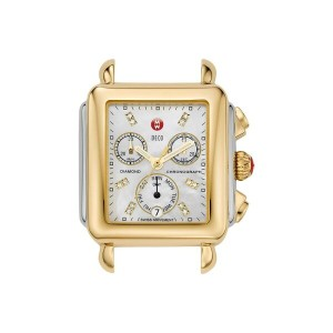 ミッシェル Michele レディース アクセサリー 腕時計【Deco Two-Tone, Diamond Dial Silver/Gold Watch Head】Two-Tone Silver...