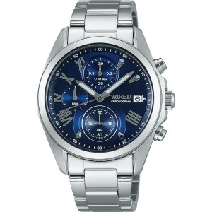 【SALE 30%OFF】SEIKO ワイアード WIRED WIRED ペアモデル Men's chrono メンズ AGAT405