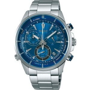 【SALE 10%OFF】SEIKO ワイアード WIRED THE BLUE 「BLUE WIND」 メンズ
