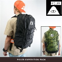 POLeR CAMPING STUFF EXPEDITION PACK (2色展開) 【正規取扱店】 ポーラー BAG バックパック リュック リュックサック 【送料無料】