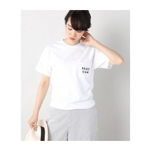 MNKR PEACE SIGN Tシャツ【イエナ/IENA Tシャツ・カットソー】