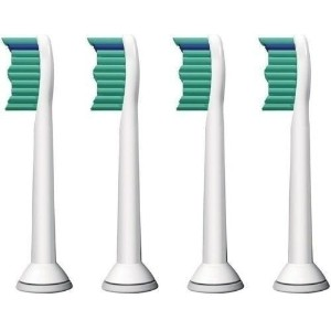 4 PCS ProResults toothbrush heads for Philips Sonicare FlexCare Platinum Sonic HX9172 HX6730 HX6530...