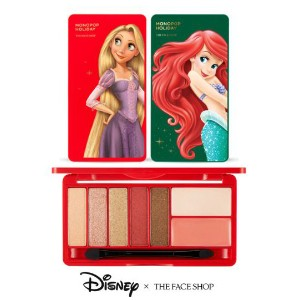 【ザフェイスショップ】 THE FACE SHOP ディズニー アイシャドウウ Disney MONOPOP HOLIDAY  eyeshadows and cheeck colors...