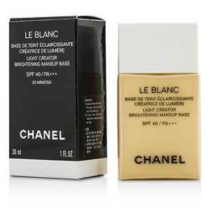 [Chanel] Le Blanc Light Creator Brightening Makeup Base SPF40 - #20 Mimosa 30...