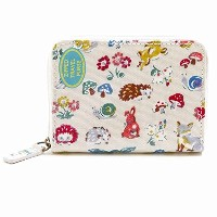 Cath Kidston Zipped Travel Purse - O/C Forest Animals 595834 [並行輸入品]