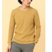 DOORS FORK&SPOON Waffle Thermal Crewneck【アーバンリサーチ/URBAN RESEARCH Tシャツ・カットソー】