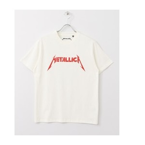 Sonny Label METALLICAロゴTシャツ【アーバンリサーチ/URBAN RESEARCH Tシャツ・カットソー】