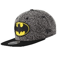 New Era Batman Flecked Crown Snapback Cap Kappe 9fifty 950 S M Basecap