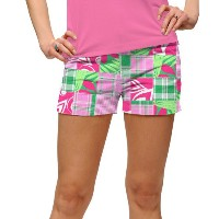 LoudMouth Ladies Mint Julep Mini Shorts【ゴルフ レディース>パンツ】