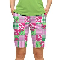 LoudMouth Ladies Mint Julep Bermuda Pants【ゴルフ レディース>パンツ】