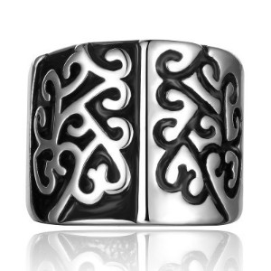 Chic Stylish Pattern Decorated Ring For Men