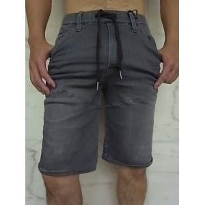 "G-STAR RAW[ジースター]【5621 3D SPORT 1/2 LENGTH TAPERED SHORTS】MEDIUM AGED""GREY RINN TRAINER""スウェットデニム..."