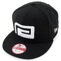 (リバーサル) REVERSAL キャップ BIG MARK NEW ERA CAP 9FIFTY SNAPBACK BLK