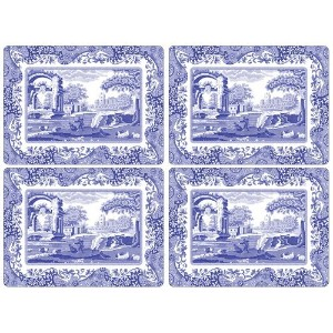 Spode Blue Italian Placemats, Set of 4 by Spode
