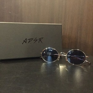 A.D.S.R. エーディーエスアール サングラスWOLFF 02(b) SILVER METAL/BLUE LENS【中古】【0509】【1705】