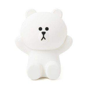Line Friends Store Official Goods : Hug Me Brown LED Touch Lamp