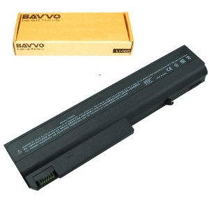 Bavvo 6-cell Laptop バッテリー for HP COMPAQ 6515 b 6710 b 6710 s 6715 b 6715 s 6910 p ; P/N 360483-004 ...
