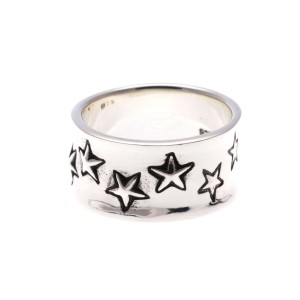 【SALE 35%OFF】ヤーカ YArKA 【massivestore】【YArKA/ヤーカ】silver925 little many star design ring[lit]...