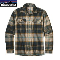 patagonia(パタゴニア) メンズ・ロングスリーブ・フィヨルド・フランネル・シャツ(アジア・フィット) Ms L/S Fjord Flannel Shirt - AF 54130 SPEC M