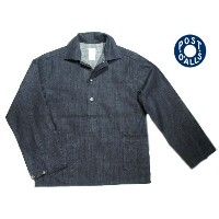 【期間限定30%OFF!】POST OVERALLS(ポストオーバーオールズ)/#1204R3 10oz JAPAN DENIM CRAFT MASTER2 SHIRTS/indigo