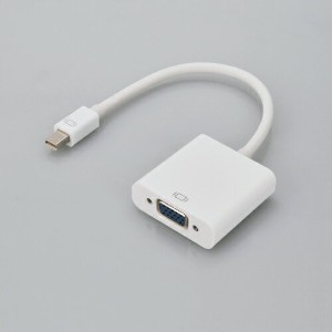 《在庫あり》CENTURY Mini DisplayPort to VGA変換アダプター [CCA-MDPVGA]