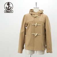 【FW】FIDELITY フィデリティ レディース 24oz SHORT DUFFLE COAT jute & wood toggles[24030LA]