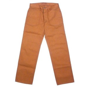 SUGAR CANE[シュガーケーン] ワークパンツ ブラウンダック SC41511 Made in USA COTTON CANVAS WORK PANTS (BROWN) 送料無料...