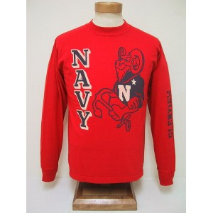 BuzzRickson's[バズリクソンズ] ロンT U.S.NAVY (RED)