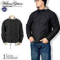 "Buzz Rickson's(バズリクソンズ) ""WILLIAM GIBSON COLLECTION"" TYPE BLACK N-1 DECK JACKET デッキ ジャケット BR13657"